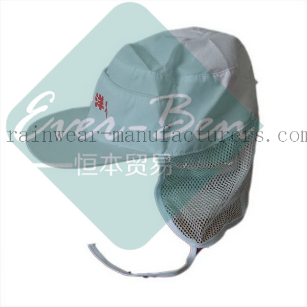 029 gardening hat with neck flap