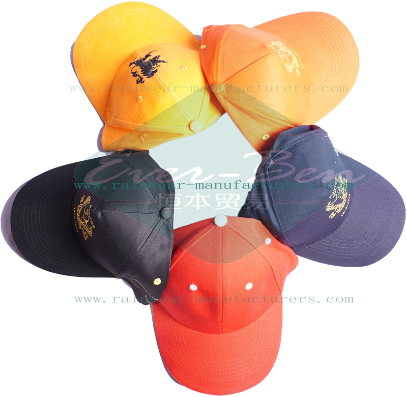 fitted baseball caps manufacturer