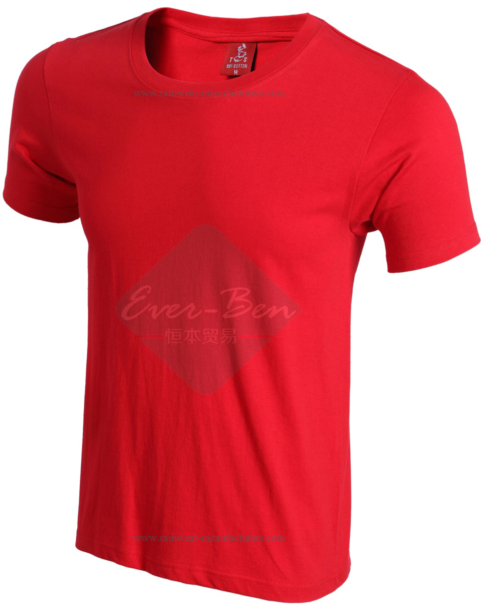 028 Mens cotton t shirts