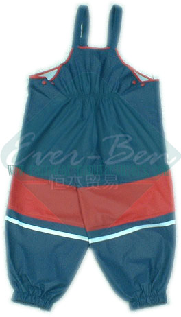 China fleece overall for child