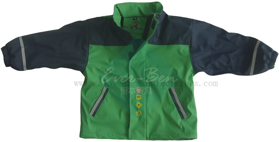 Children PU rain jacket