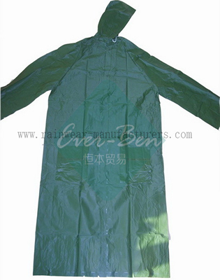 Reusable PVC rain suit-full rain suit