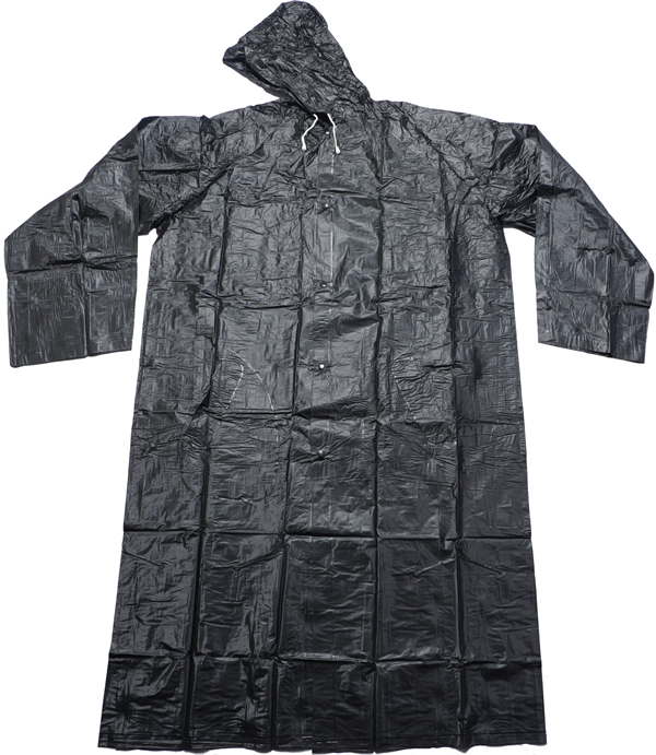 Black pvc mac wholesale-black pvc raincoat-China black PVC plastic macs adults.jpg