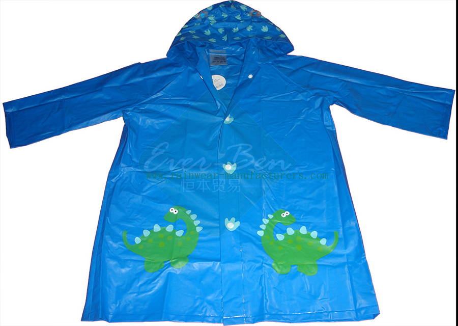 018c54623b7a Kids Raincoats 005-PVC Baby Raincoat