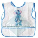 kids art apron-toddler boy apron-pvc vest-disposable aprons
