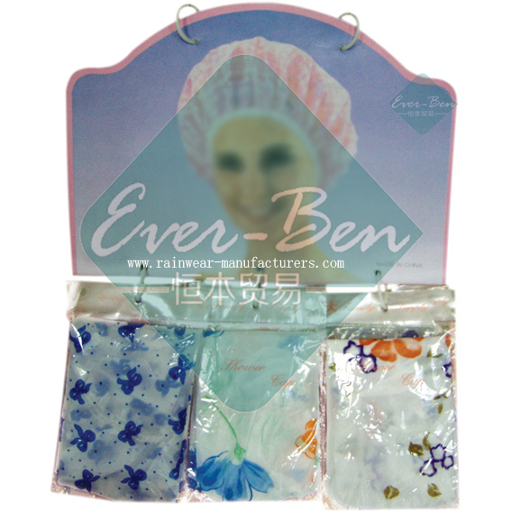 PE shower cap