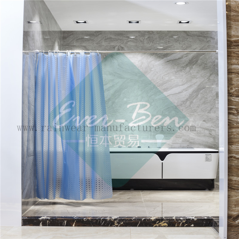 004 Cheap shower curtains supplier