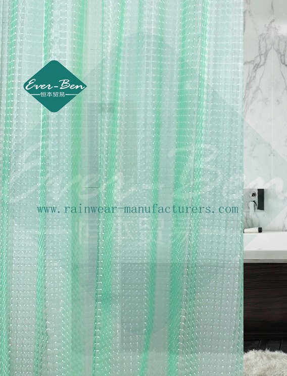 035 Frosted Shower Curtain Manufactory
