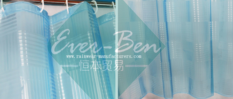 pvc free shower curtain supplier