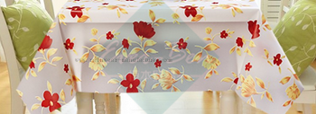 EVA high quality vinyl tablecloth supplier