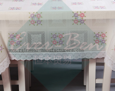 001 EVA table cover skirt supplier