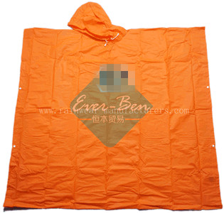 NFCI Orange eva rain poncho supplier