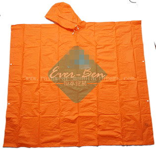 NFCL EVA waterproof cape with hood manufacturer