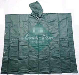 NFGP PEVA Promotional rain cloak supplier