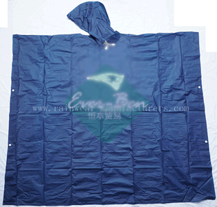 NFNP EVA youth rain poncho supplier