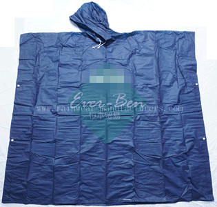 NFSS Bulk PEVA plastic rain capes supplier