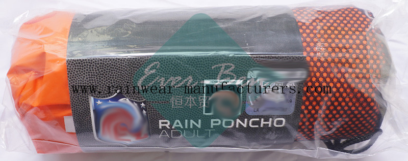 NFCH EVA extra long rain poncho packing pouch
