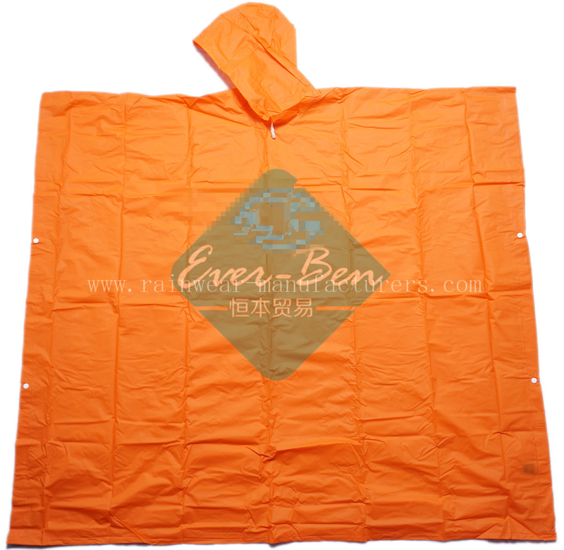 NFCH Extra long rain poncho supplier