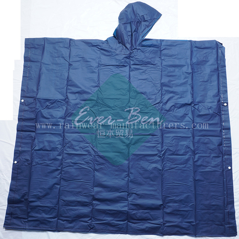 NFDC Promotional blue water poncho raincape supplier