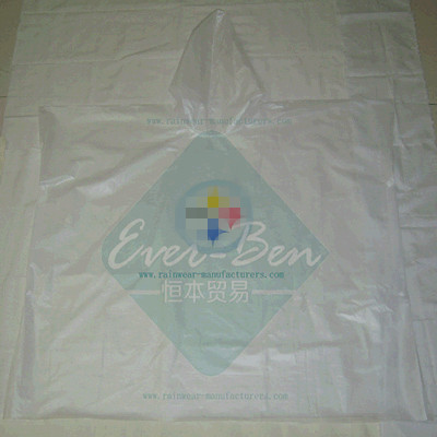 Transparent clear nonwoven rain ponchos supplier.jpg