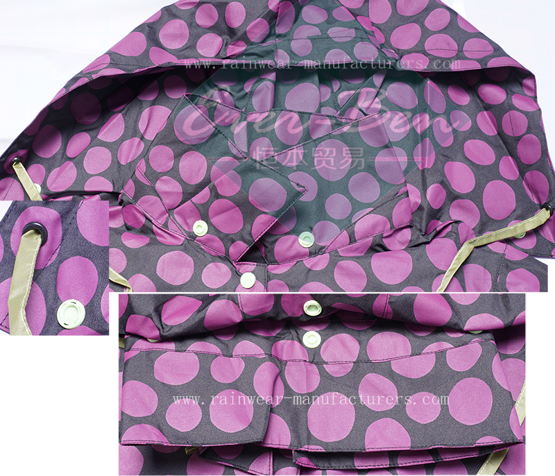 raincoats hood for women
