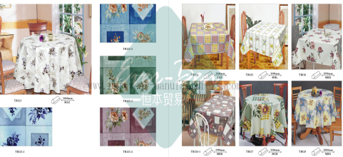 16 17 China Thick Vinyl Tablecloths Manufacturer Thick Pvc