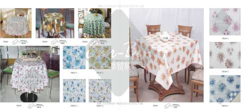 14-15 oval vinyl tablecloth manufacturer