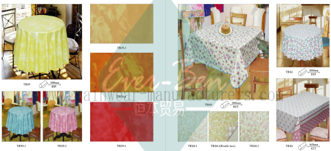 20-21 vinyl wipe clean tablecloth supplier