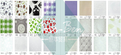 32-33 China white pvc tablecloth factory