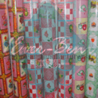 China printing PVC table cloth in roll PVC table cover