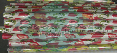 China pvc tablecloth fabric manufacturer