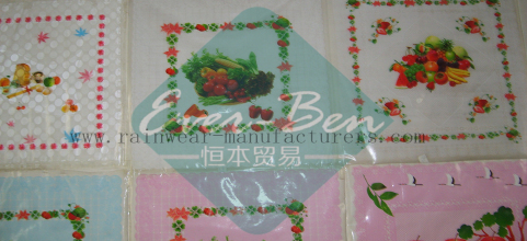 China square plastic tablecloth supplier