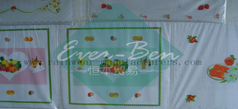 China vinyl table covers manufactory