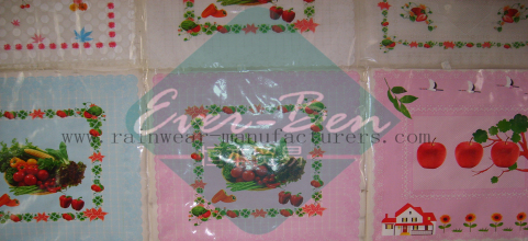 China vinyl tablecloth fabric supplier