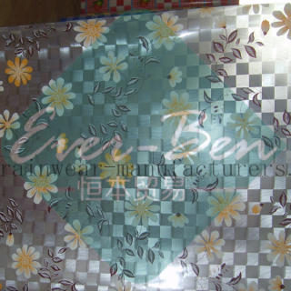 Transparent printing PVC table cloth PVC table protector