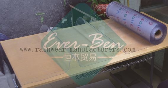 Pvc 004 China Clear Pvc Table Cover Manufacturer