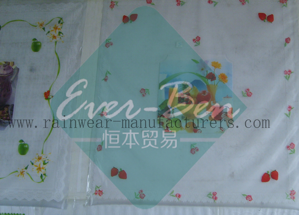 PR007 China Table Cloth PVC Supplier