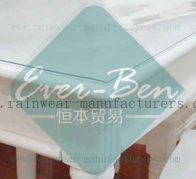 clear PVC table mats transparent PVC table protector-clear table mat