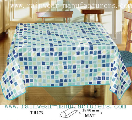Large Pvc Tablecloth Plastic Dining Table Cover Plastic Tablecloths