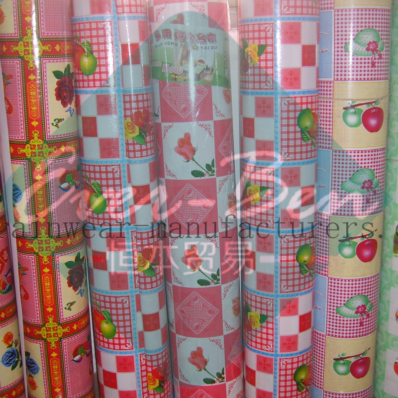 PR018 Plastic Table Cover Roll Supplier-PVC Film Manufacturers