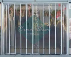 Magnetic plastic curtain wall Manufacturers-clear vinyl door curtain suppliers