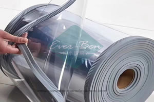 Magnetic vinyl warehouse curtains Factory-China Magnetic transparent pvc strip curtains Manufacturers