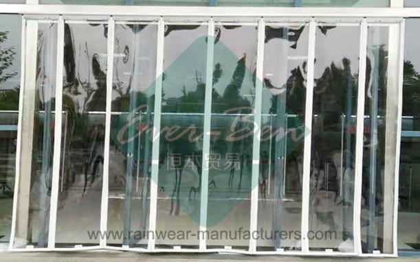 Plastic Door Strips >> Magnetic Plastic Door Curtain 016 Magnetic Garage Door Curtains
