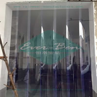 pvc strip curtains-China cold room plastic curtains Manufacturers