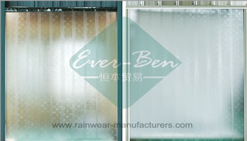 vinyl curtain-China plastic weather curtain Producer