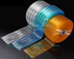 vinyl door strips roll-Bulk cold storage plastic curtain Producer