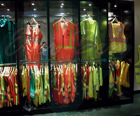 high visibility clothing suppliers sample room