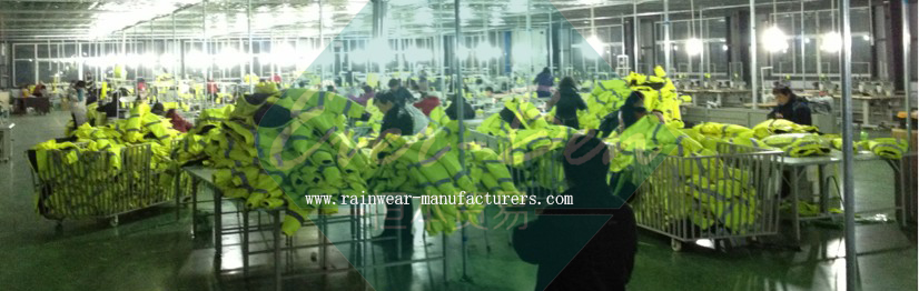 high visibility workwear manufactory production shop