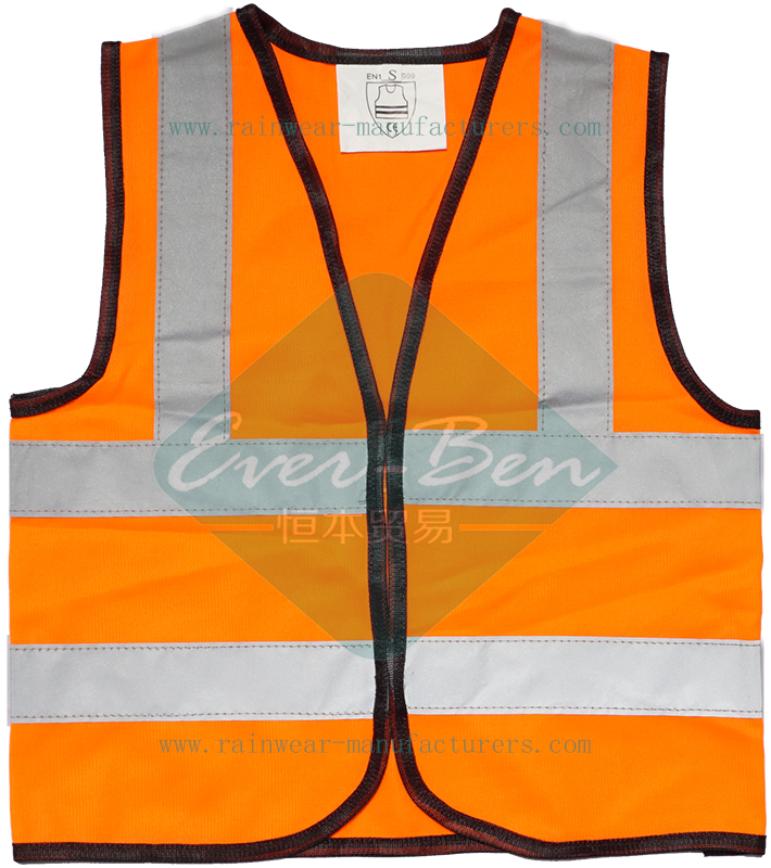 Orange safety vest supplier