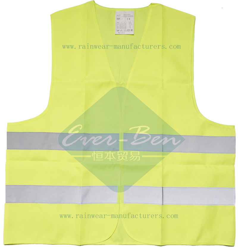 hi vis reflective safety vest wholesale